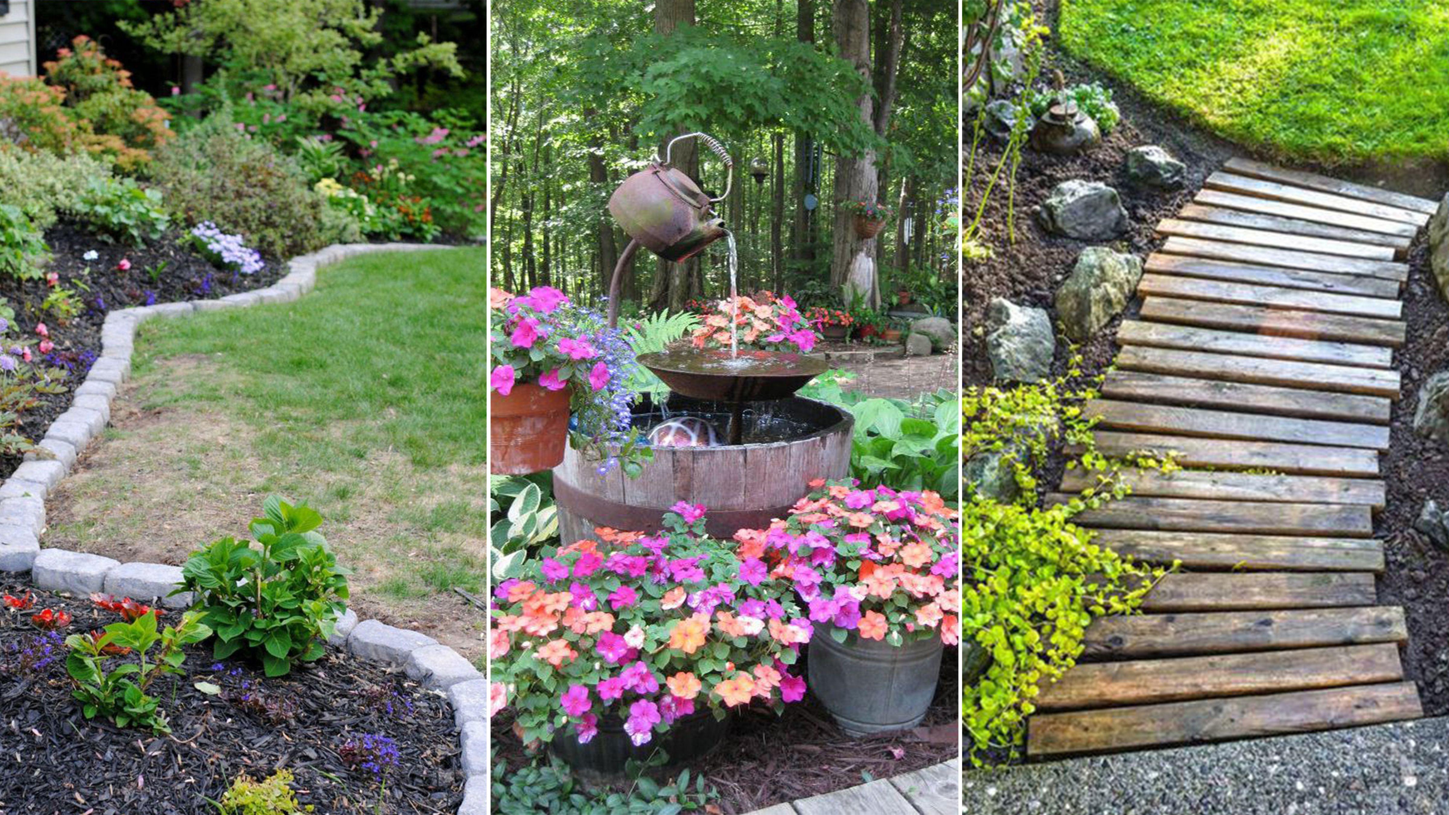 58 DIY Backyard Design Ideas - DIY Backyard Decor Tips on Cheap Back Garden Ideas id=31786