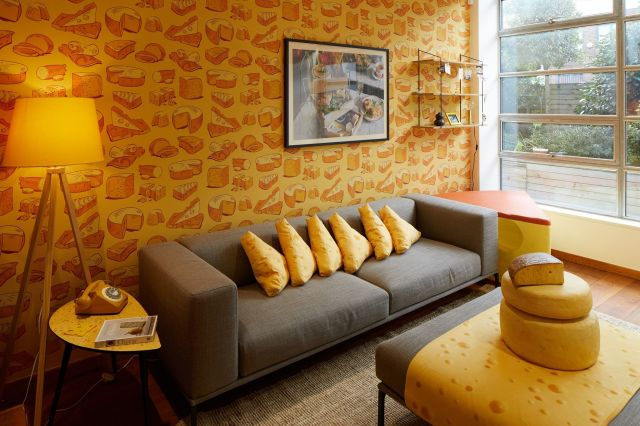 El primer hotel de queso del mundo ha abierto en Londres - Camden acoge el primer apartamento - suite dedicado al queso