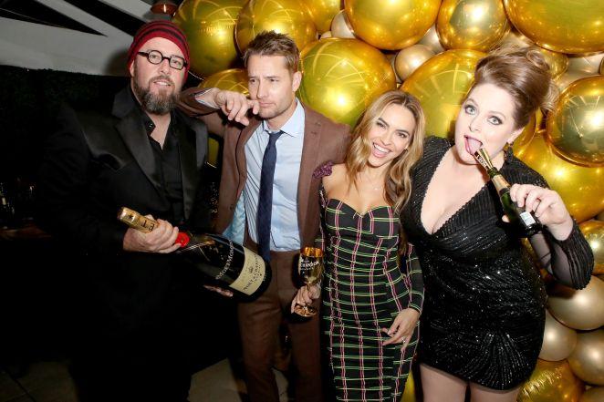 moet  chandon celebrates the 2020 golden globe award season