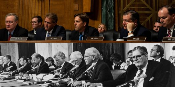 Image result for blasey ford senate hearing