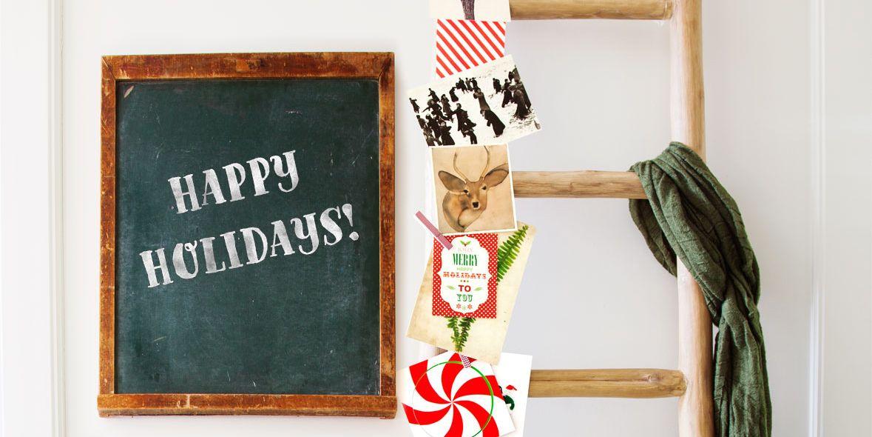 27 DIY Christmas Card Holder Ideas How To Display