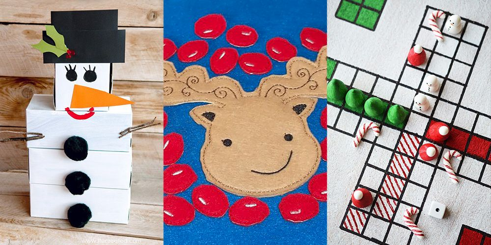26 Fun Christmas Games To Play With The Family Homemade