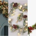 26 Christmas Garlands For Stairs And Fireplaces Xmas Garlands