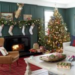 23 Christmas Living Room Decorating Ideas How To Decorate