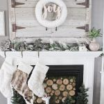 62 Christmas Mantel Decorations Ideas For Holiday