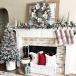 30 Festive Christmas Mantel Ideas How To Style A Holiday Mantel