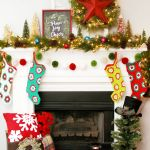 30 Festive Christmas Mantel Ideas How To Style A Holiday Mantel