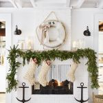 62 Christmas Mantel Decorations Ideas For Holiday Fireplace Mantel Decorating