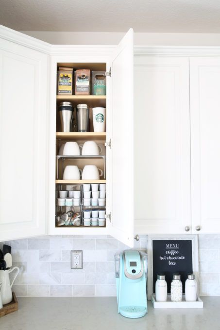 Coffee Bar Ideas - Coffee Cabinet