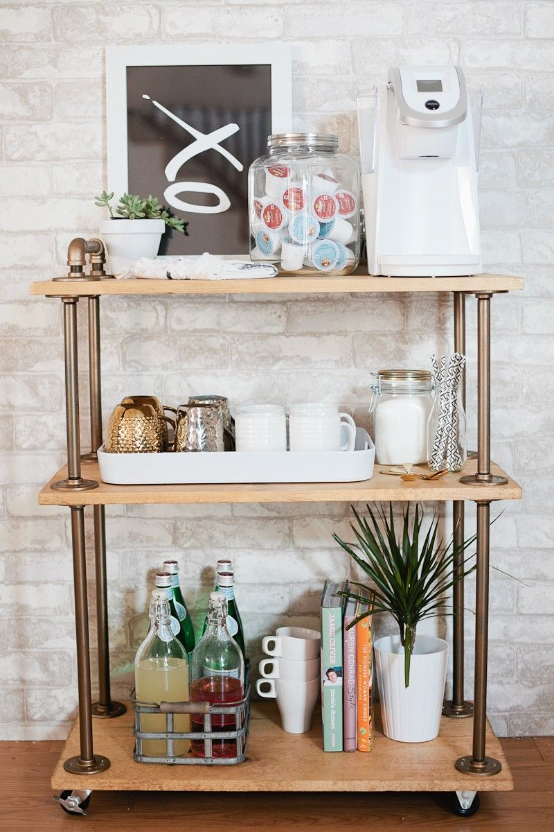 Coffee Bar Ideas - Coffee Bar Cart