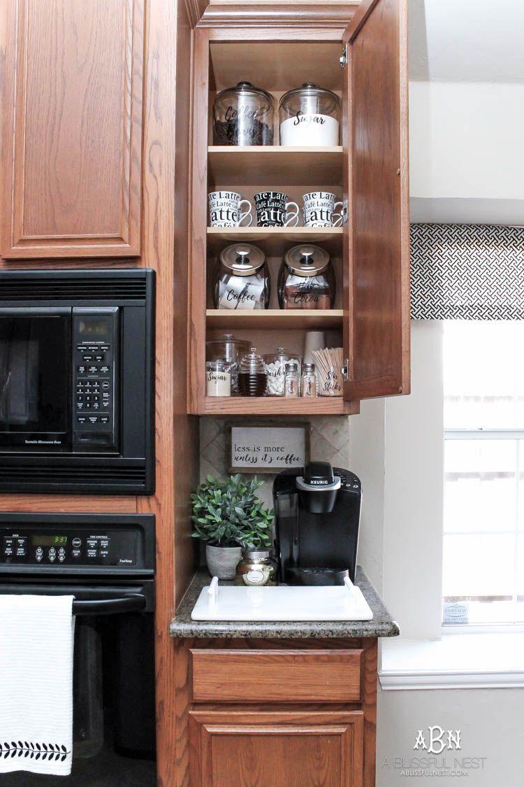Coffee Bar Ideas - Coffee Cabinet