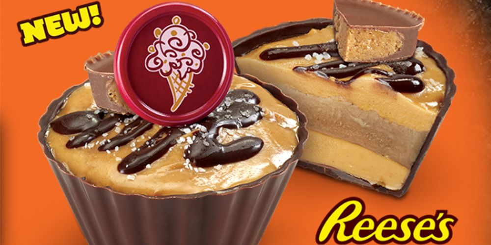 Cold Stone Creamery Launches Reese S Ice Cream Cups For A