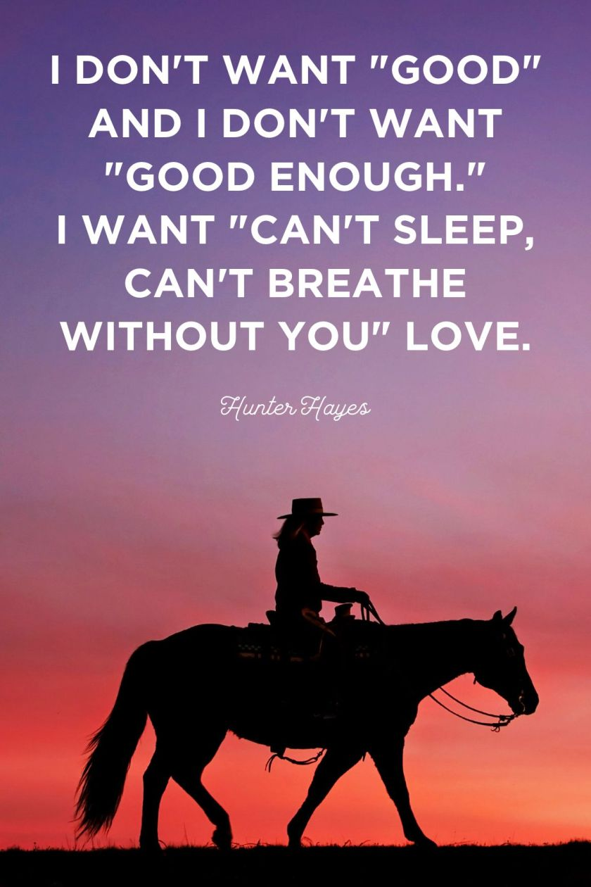 Country Love Quotes for Him