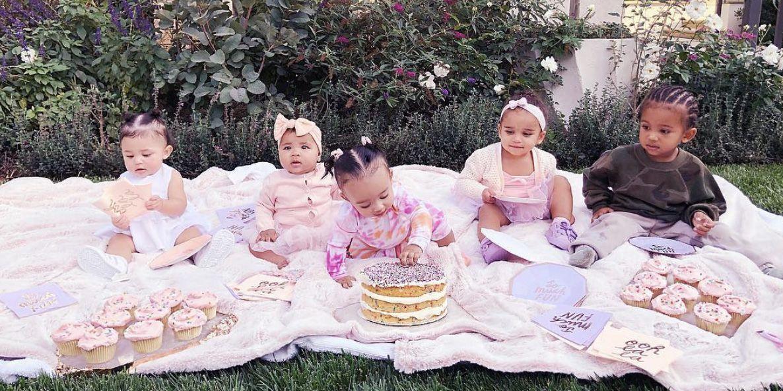 Khlo 233 Kardashian Throws Cousin Cupcake Party For True