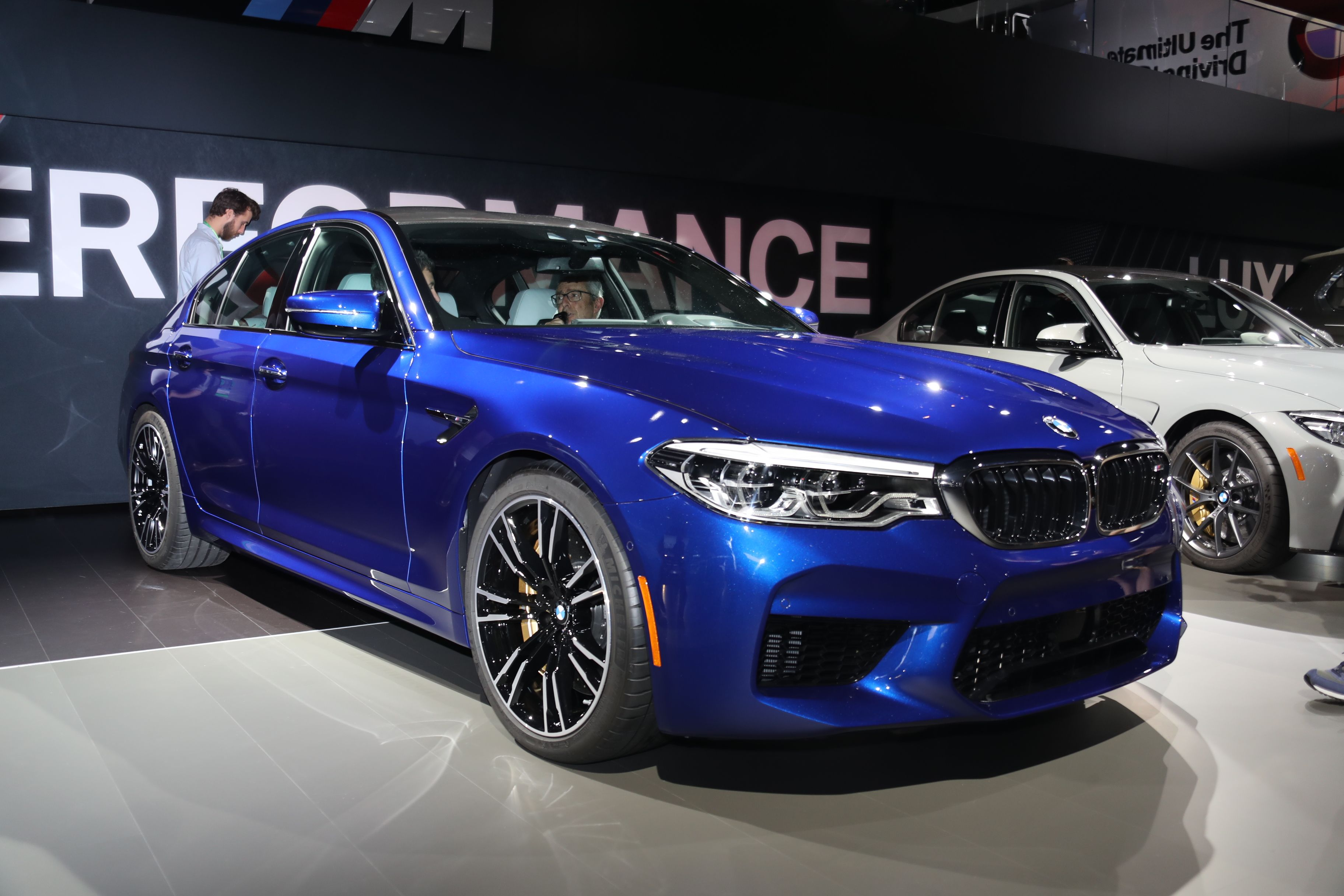 2018 Bmw M5 600 Hp And All Wheel Drive For 102 600 Roadandtrack