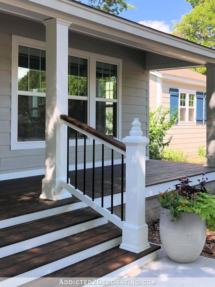 20 Diy Front Step Ideas Creative Ideas For Front Entry Steps | Front Door Steps Designs | Simple Front Step | Single | Front Entryway | Decorative Entry Door | Garden
