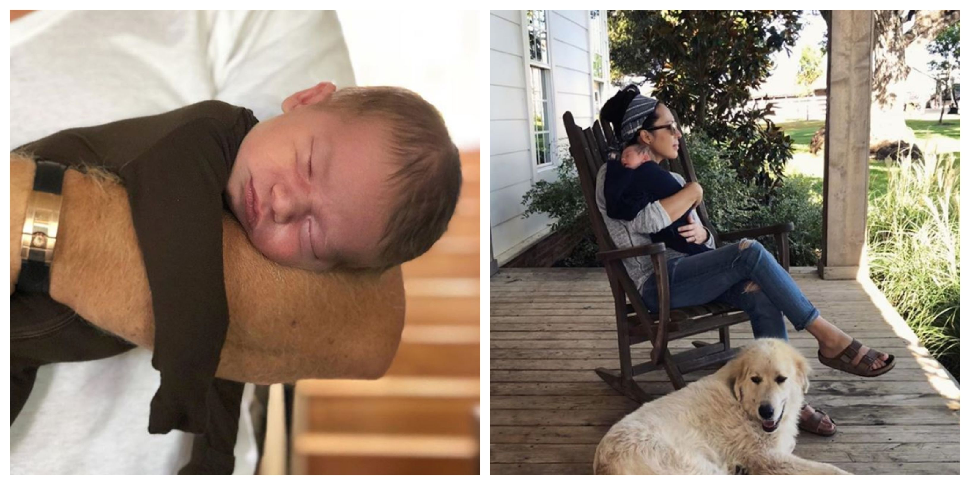 11 Adorable Pictures Of Chip And Joanna Gaines's New Baby