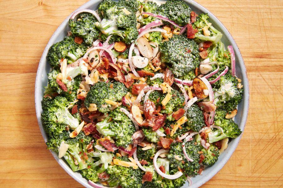 Image result for Brocolli salad