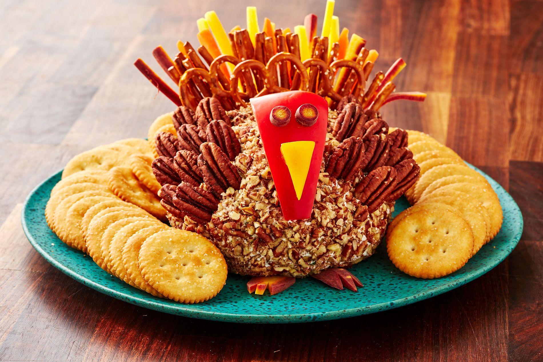 turkey cheeseball   delishcom