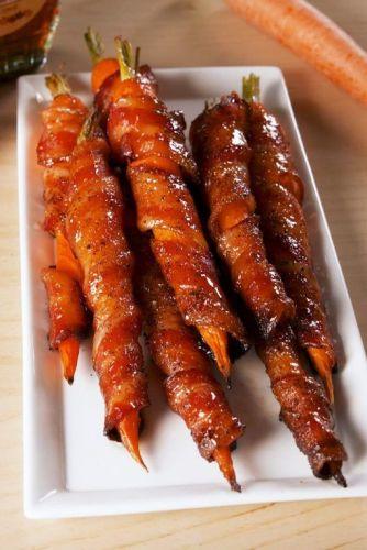 Bacon Carrots