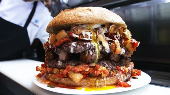 Belly Of The Beast Burger