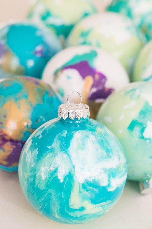 décoration de sapin de Noël bricolage