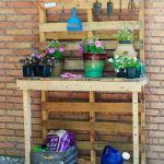 15 Diy Potting Bench Plans How To Make A Potting Bench