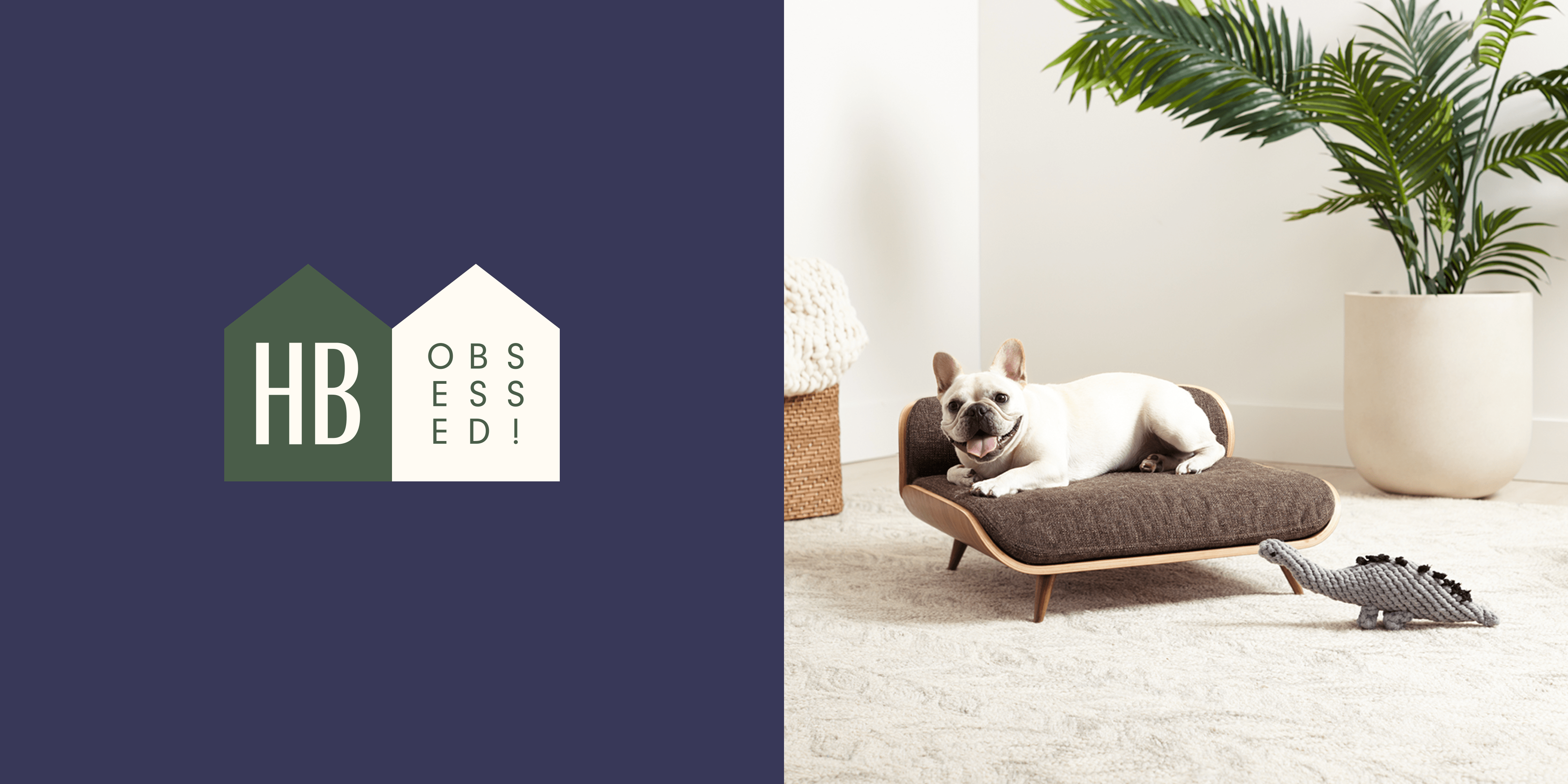 dog bed on etsy is a mid century modern