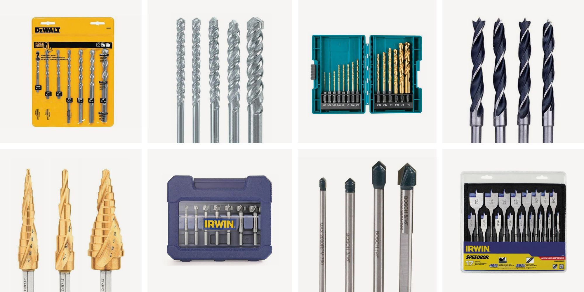 13 best drill bit sets for every job