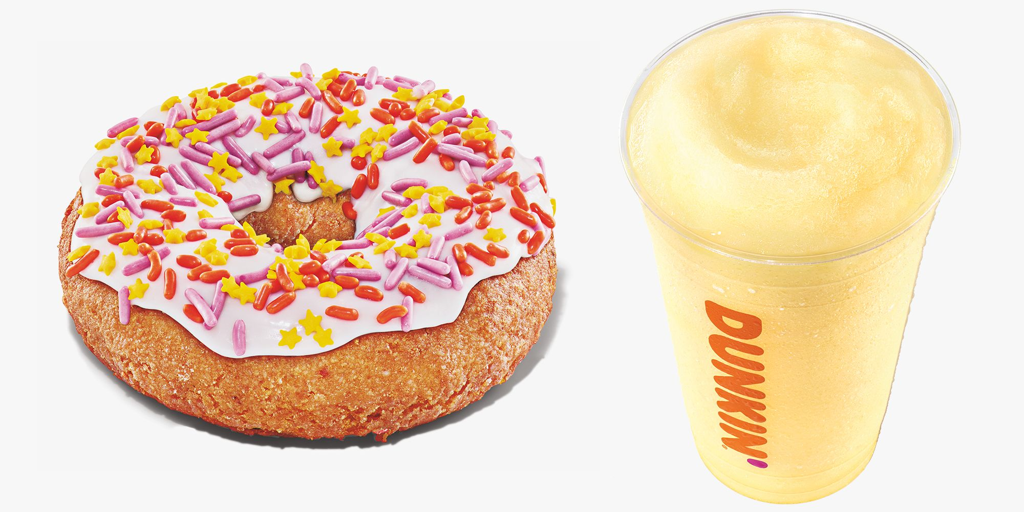 Dunkin' Simply Launched a Birthday Cake-Flavored