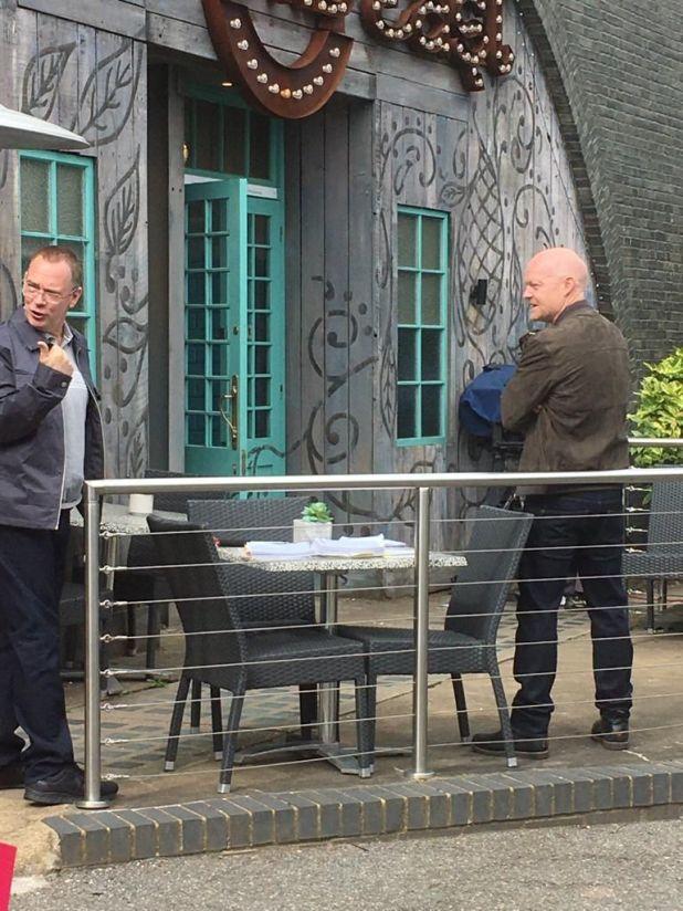 eastenders cast back to filming in june 2020   adam woodyatt and jake wood