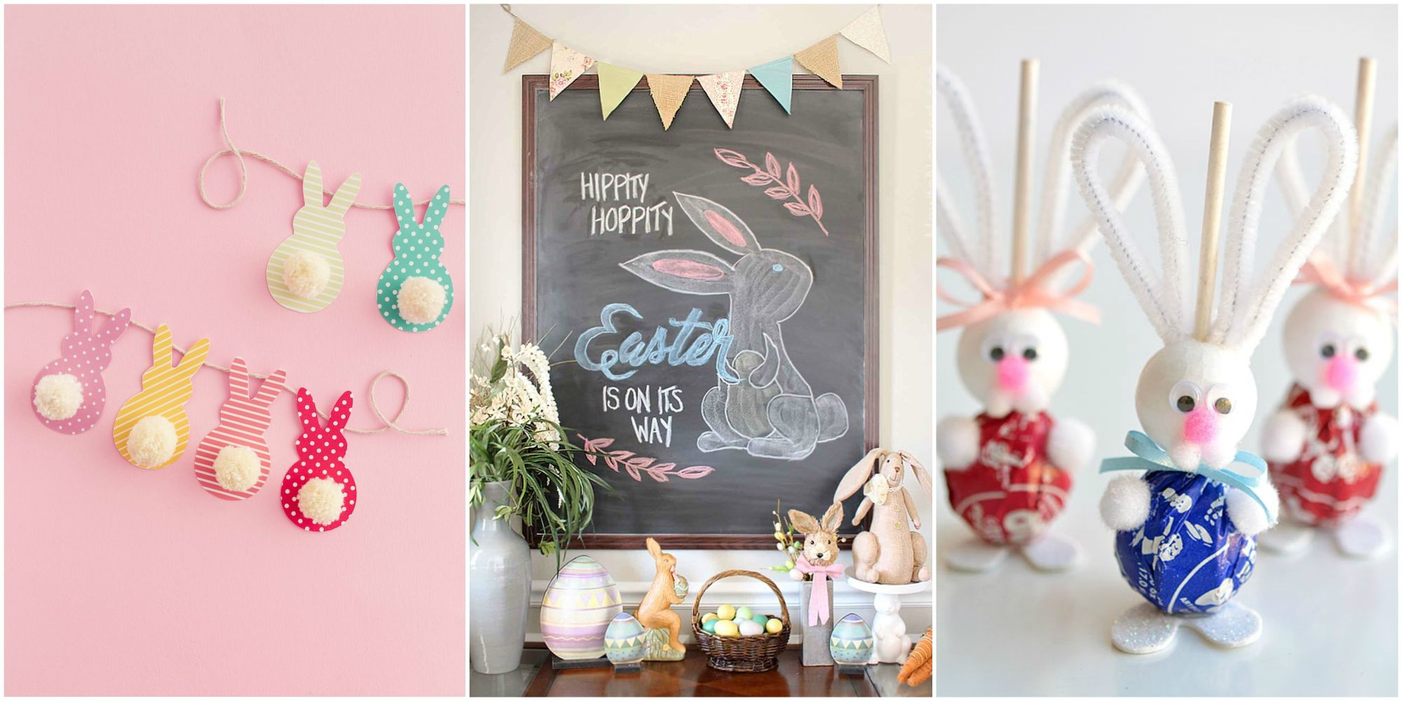 22 DIY Easter Decorations to Make   Homemade Easter Decorating Ideas diy easter decorations
