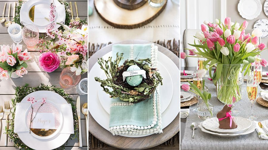 40+ Easter Table Decorations