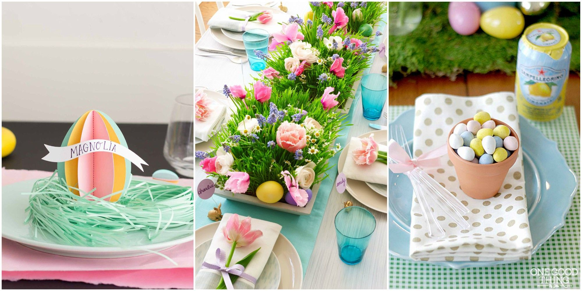 24 Easter Table Decorations   Table Decor Ideas for Easter Brunch easter brunch table