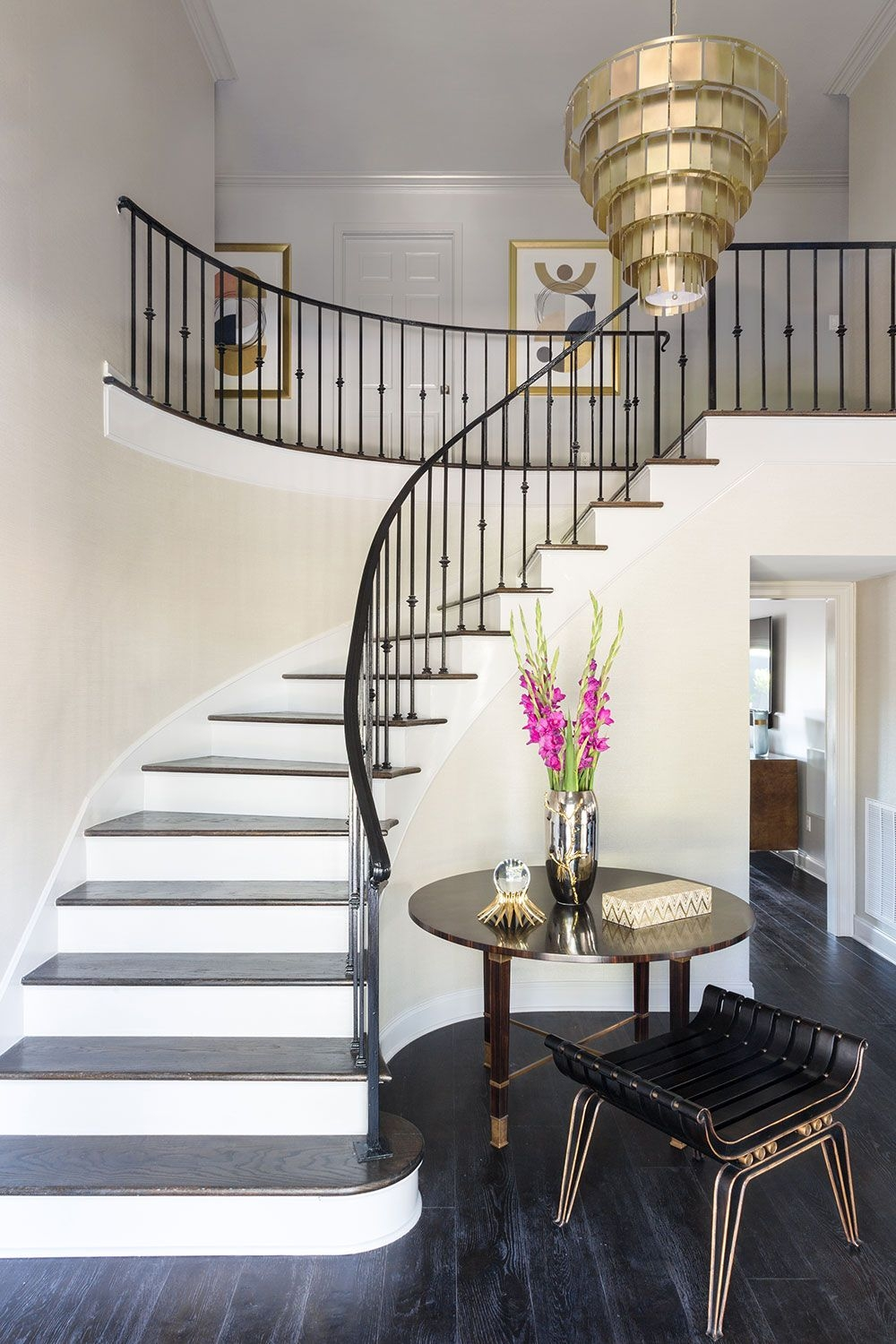 25 Pretty Painted Stair Ideas Creative Ways To Paint A Staircase   House Inner Steps Design   Staircase Window   Bungalow   House Plan   Duplex Shop   Limited Space Small Stair