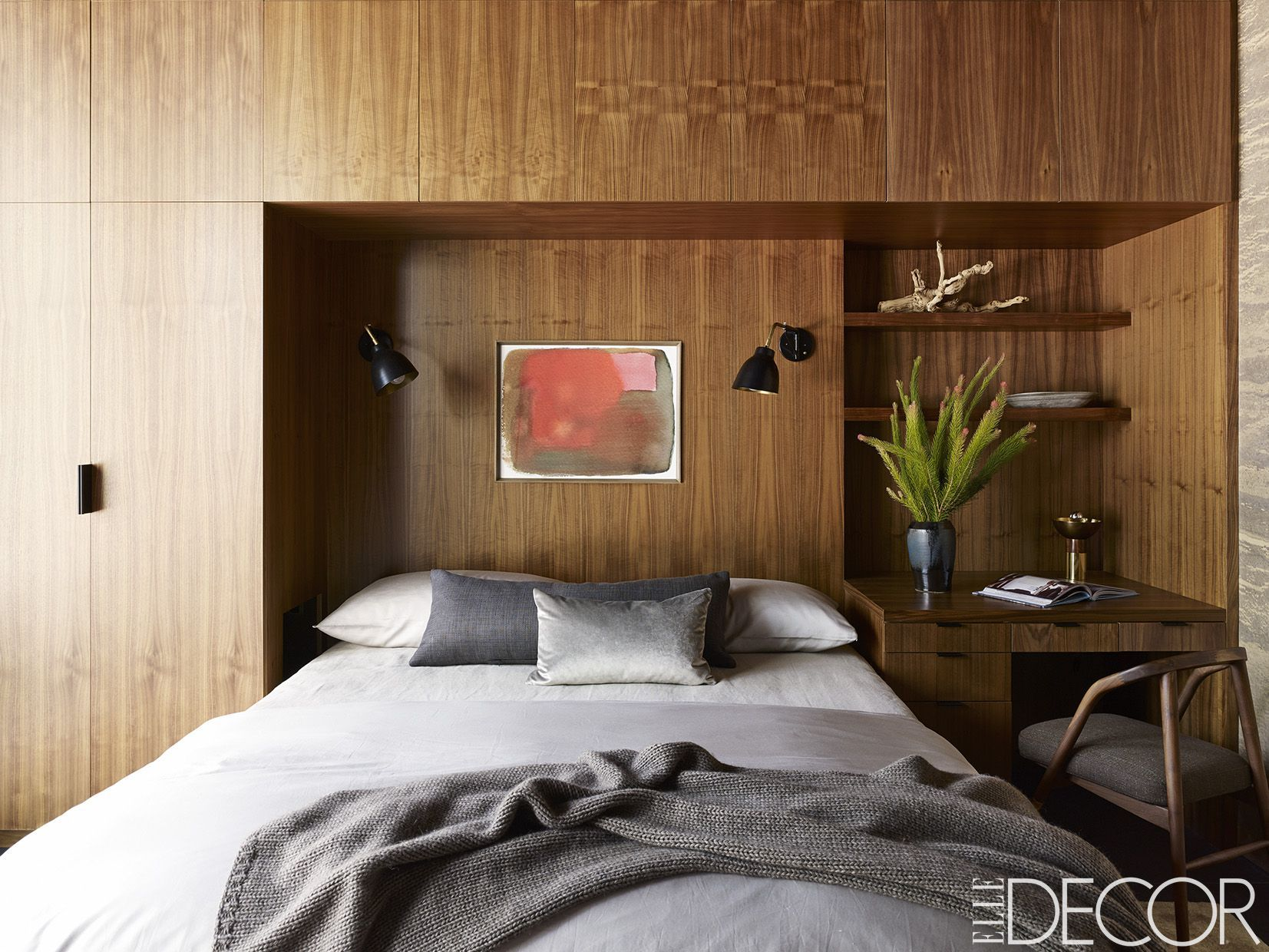 50 Small Bedroom Design Ideas - Decorating Tips for Small ... on Small Room Decoration  id=70501