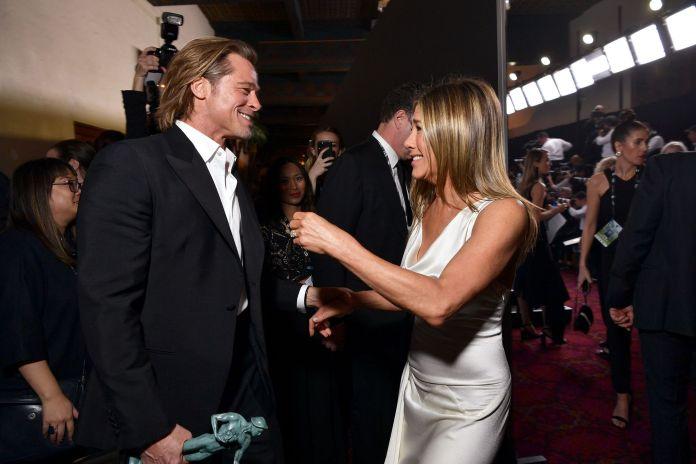 Brad Pitt Jennifer Aniston SAG Awards 2020