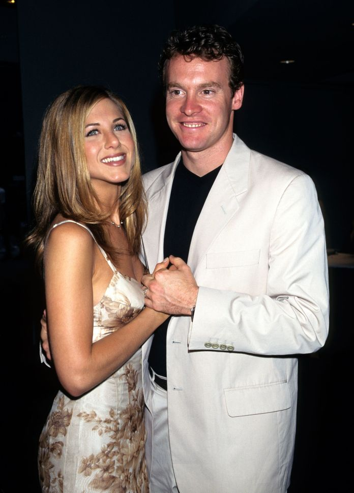 Jennifer Aniston and Tate Donovan when they were a couple