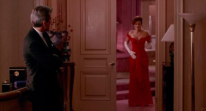 the red dress from pretty woman