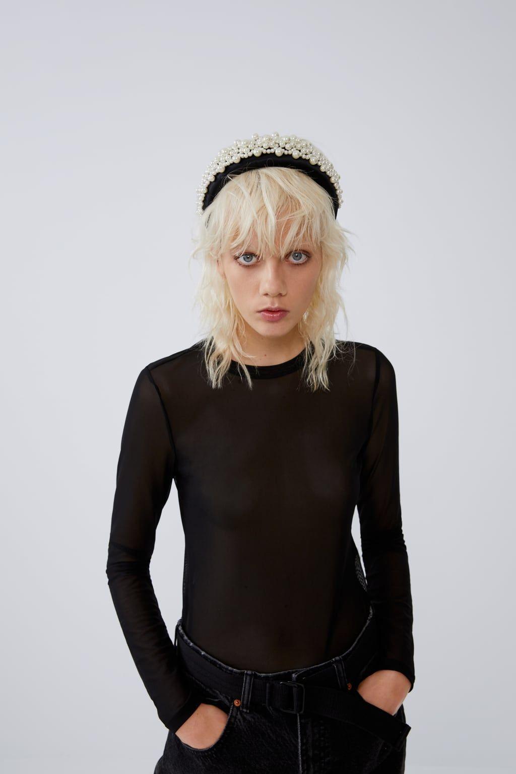 tops bajo vestido tirantes mangas barato zara