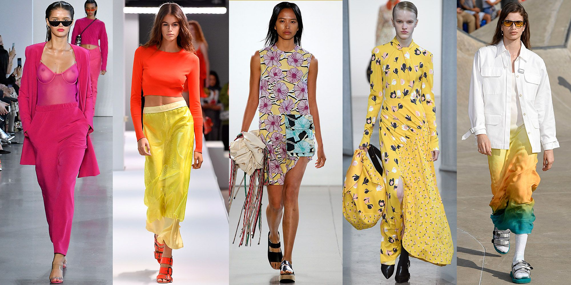 ELLE.com's Guide To The Biggest Fashion Trends Of Spring 2019