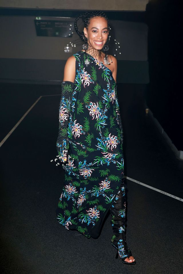 solange knowles, styled by kyle luu
