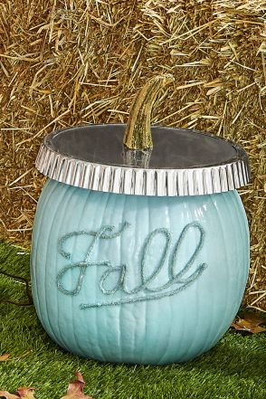 fall crafts jar