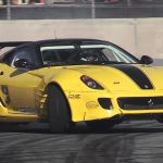 Twin Supercharged 599 Drift Car Sounds Ridiculous Ferrari V12 Supercharged Noise