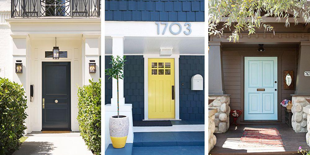 36 Best Front Door Paint Colors - Paint Ideas for Front Doors on Door Color Ideas  id=14641