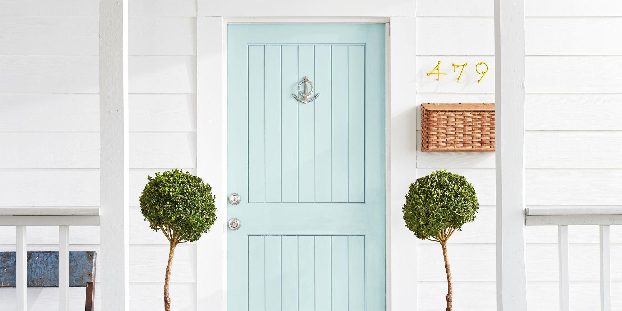 14 Best Front Door Colors - Front Door Paint Ideas for ... on Door Color Ideas  id=35844
