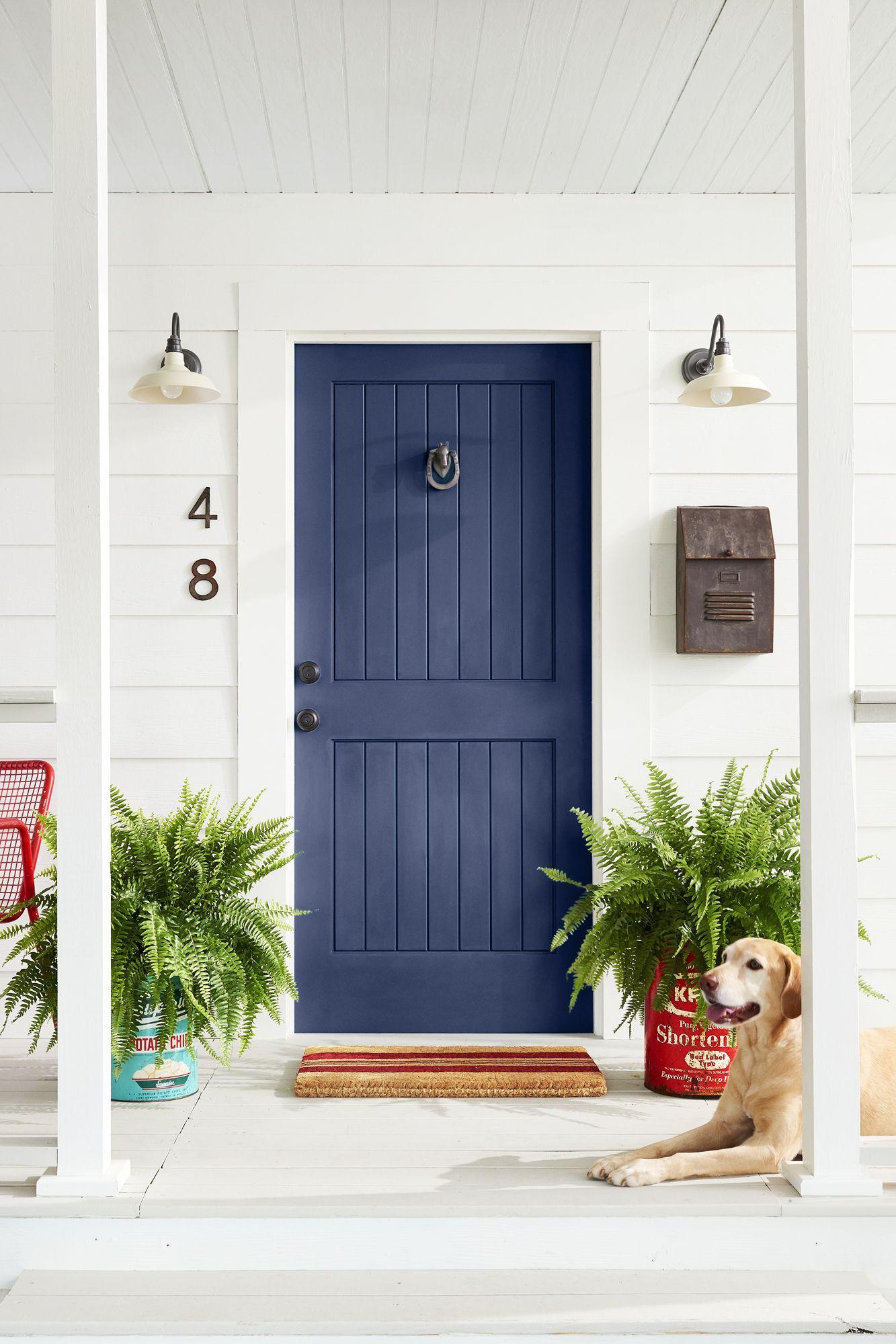 14 Best Front Door Colors - Front Door Paint Ideas for ... on Door Color Ideas  id=22530