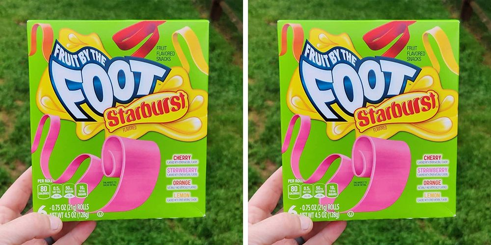 The New Fruit by the Foot Starburst Flavors Are