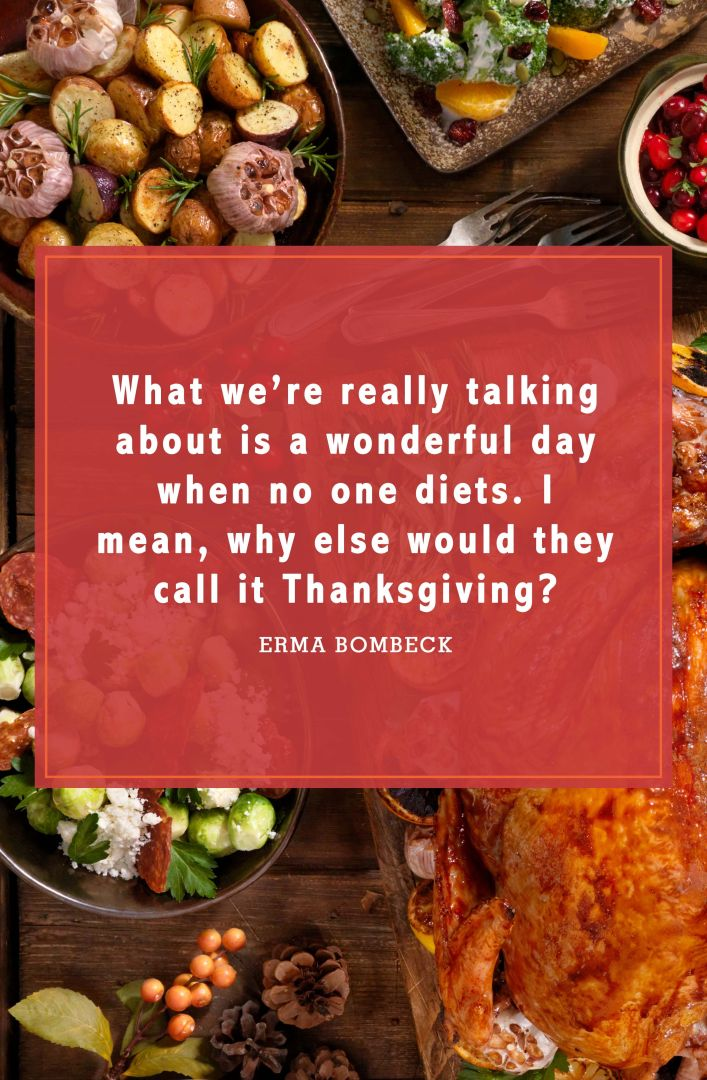 funny thanksgiving quotes erma bombeck