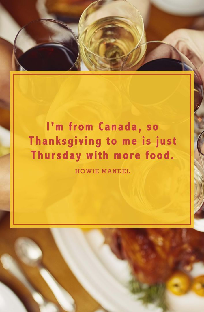 funny thanksgiving quotes howie mandel